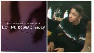 Let Me Down Slowly - Alec Benjamin ( Live cover)