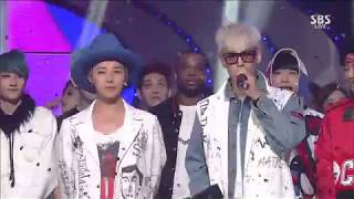 Cover images [HD] 150823 BIGBANG (빅벵) - LET'S NOT FALL IN LOVE - No.1 (1위) @ Inkigayo