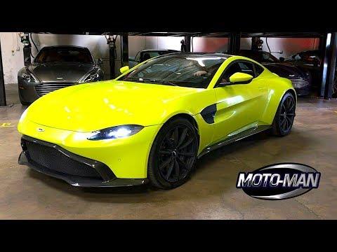 2019 Aston Martin Vantage WORLD PREMIERE TECH REVIEW