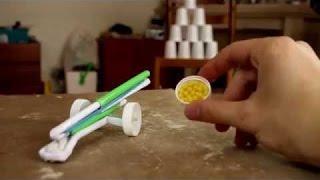 How to Make -Как сделать Стреляющую  пушку из бумаги