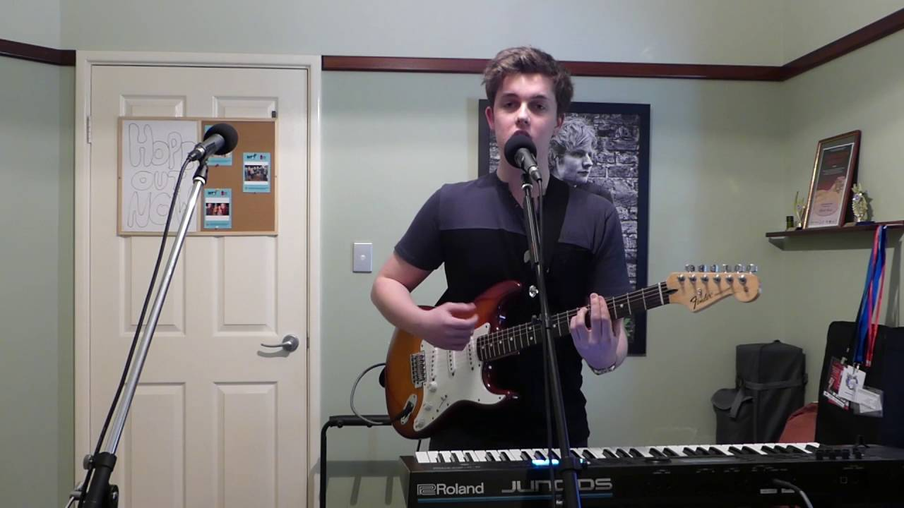 Lego House - Ed Sheeran (Loop Pedal Cover by Mitchell ...
