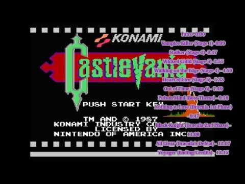 Castlevania (NES) Entire Soundtrack 16-bit SNES Remix