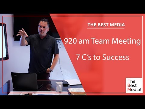 The 7 C's to Success with CEO David Marcantonio, Tai Lopez, and Grant Cardone