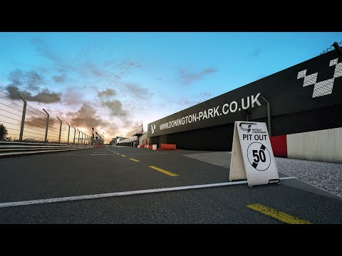Assetto Corsa Competizione || British GT Pack || Donington Park || Nvidia Filter |