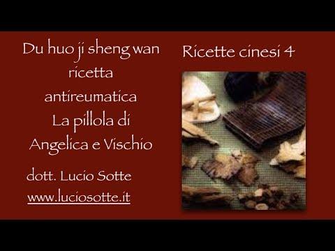 Farmaci cinesi 4 - Du huo ji sheng wan - antireumatico e lombalgia