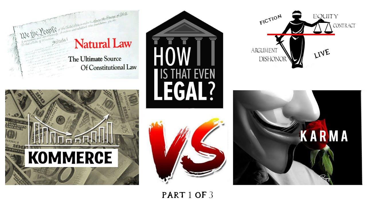 Kommerce Vs Karma: Pt 1 of 3 Fiction Vs facts...Look at bills this way...