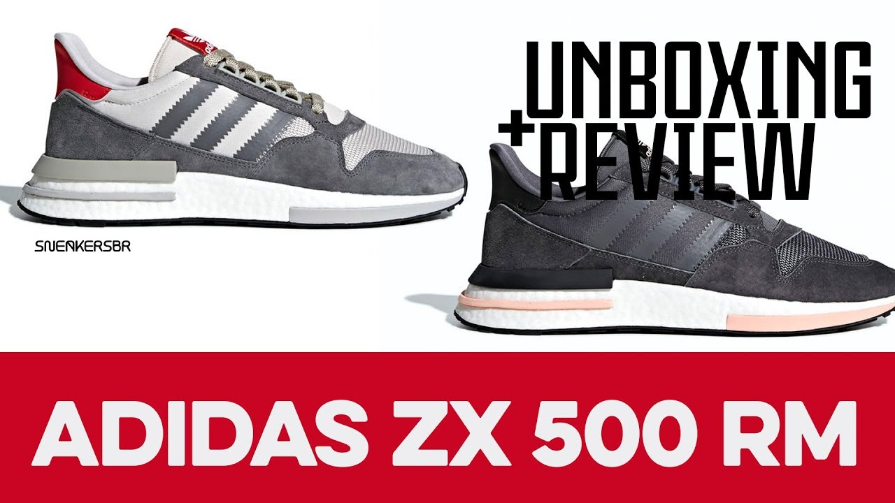 b0cdb55a0 UNBOXING+REVIEW - adidas ZX 500 RM - YouTube
