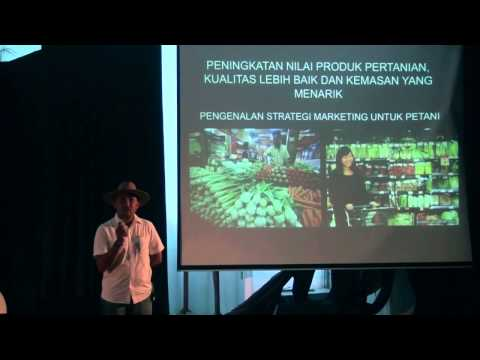 Hydroponics as an answer for Urban Farming | Ventra Agustri | TEDxITS