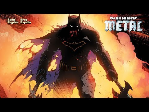 DC Dark Nights Metal Hits Highest Sales In Years