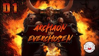 Скачать THE END TIMES Total War Warhammer 2 Archaon Part 1