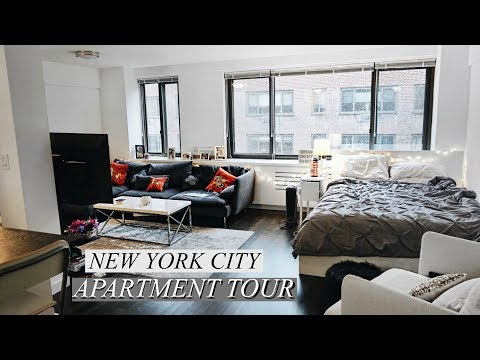 New York City- Manhattan Studio Apartment Tour {Updated} | #SARMAS EPISODE 4