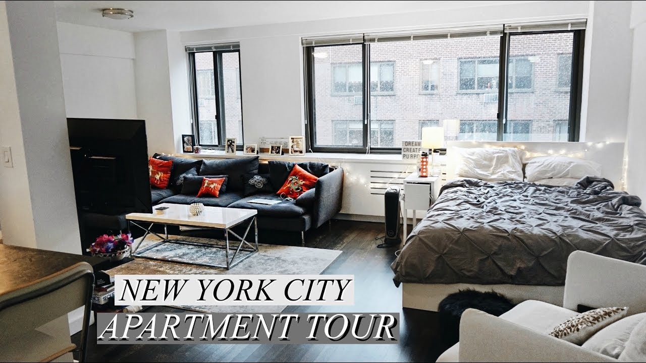 New york city manhattan studio apartment tour updated - Pictures of studio apartments ...