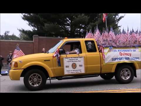 Quincy, Massachusetts  Flag Day Parade   June 11th 2016