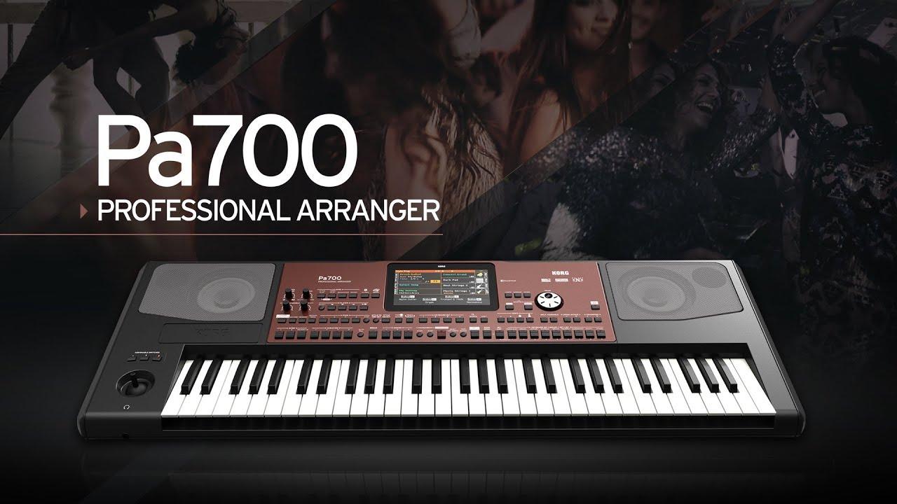 Pa700 - PROFESSIONAL ARRANGER | KORG (USA)