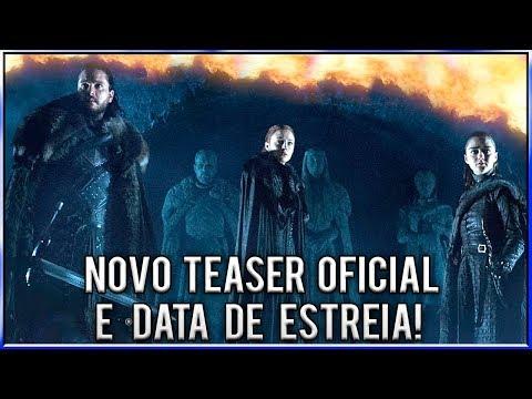 Análise do Novo Teaser Oficial da 8ª Temporada de Game Of Thrones!