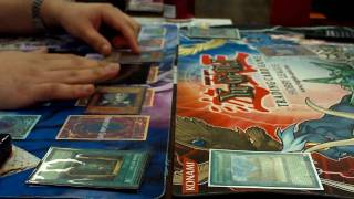 Yugioh Duel - Zombiesworn vs Crystal Beasts Synchro -  Game 1