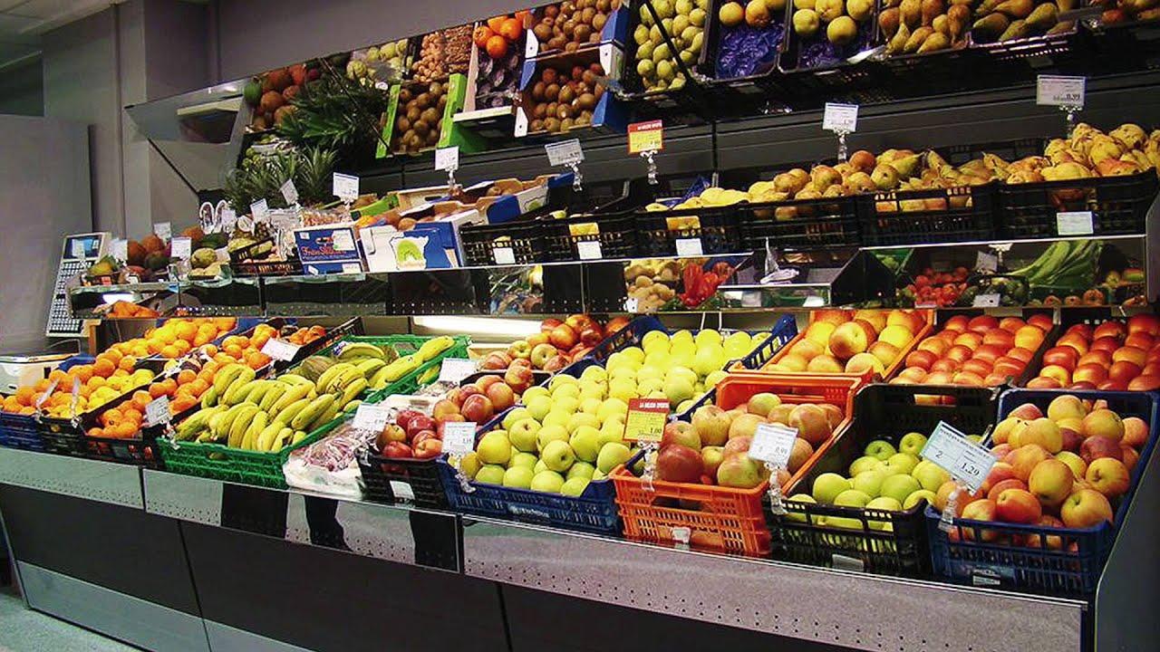 Estanterias para frutas y verduras estantes para las - Estanterias para fruta ...