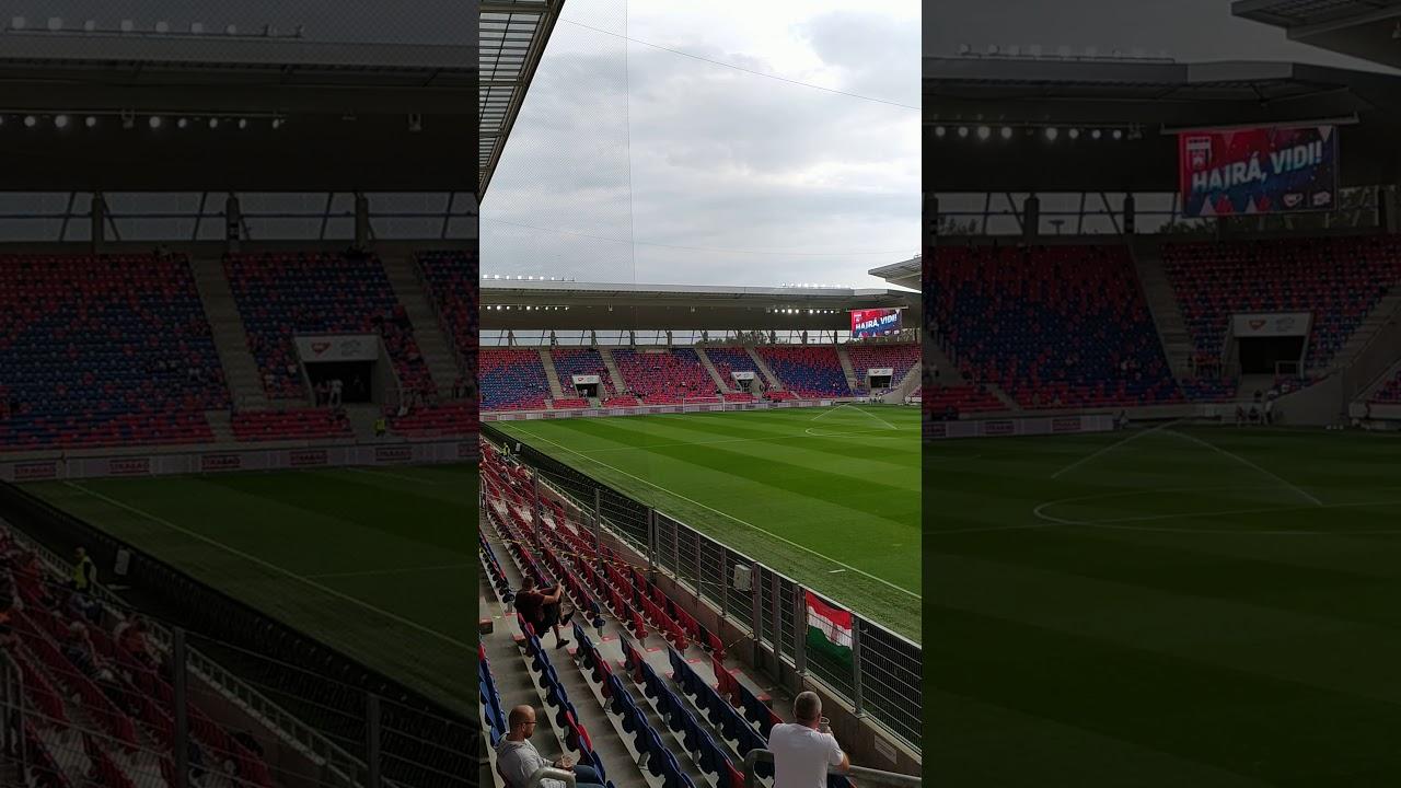 MOL Fehérvár FC-DVSC 1-0 A Sóstói Stadionban - YouTube