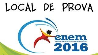 Local de Prova | ENEM 2017
