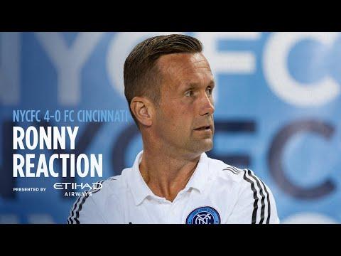 Ronny Deila Reaction   NYCFC 4-0 FC Cincinnati