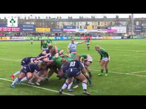 Irish Rugby TV: Ireland Women v Scotland Women - Tunnel Cam