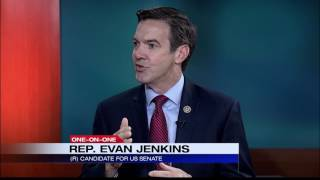 Dan Thorn: U.S. Rep. Evan Jenkins announces 2018 Senate Run