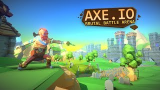 AXE.IO The Most Kills! Multiplayer Endless Brutal Battleground