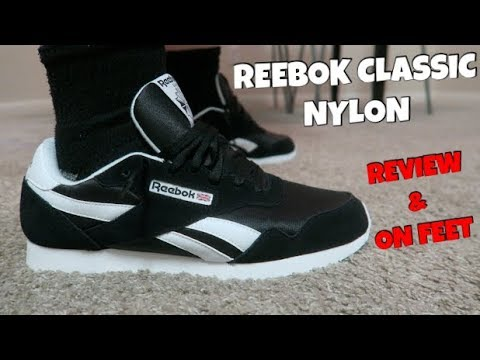 d5e2e984a69f61 REEBOK CLASSIC NYLON REVIEW AND ON FEET! - YouTube