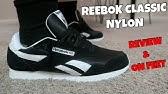 Reebok Classic Nylon Team Navy   Platinum - Sneaker Pickup - YouTube d2e7fd1be