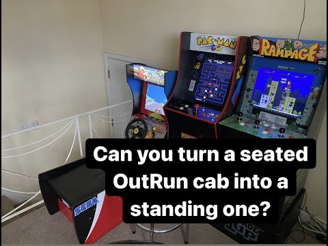 Can you put a seated OutRun Arcade 1up cab on a riser? from phillysphamous