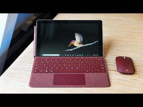 New Microsoft Surface Go Intel Pentium Gold Laptop Review