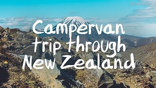 With a campervan through New Zealand North Island