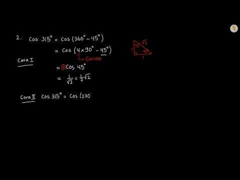 Contoh Soal Perbandingan Trigonometri Sudut Berelasi Pada Semua Kuadran 2 Youtube