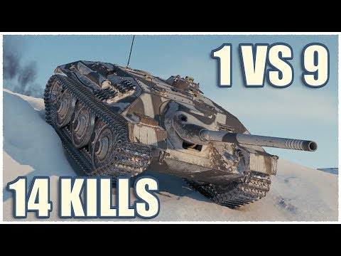 E 25 Cockroach • 14 KILLS • WoT Gameplay