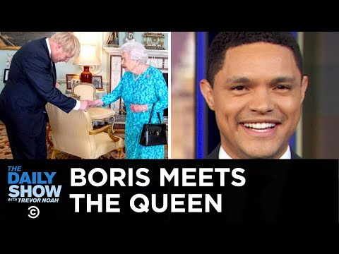 Boris Johnson Meets the Queen & Australia's Drug-Smuggling Problem | The Daily Show
