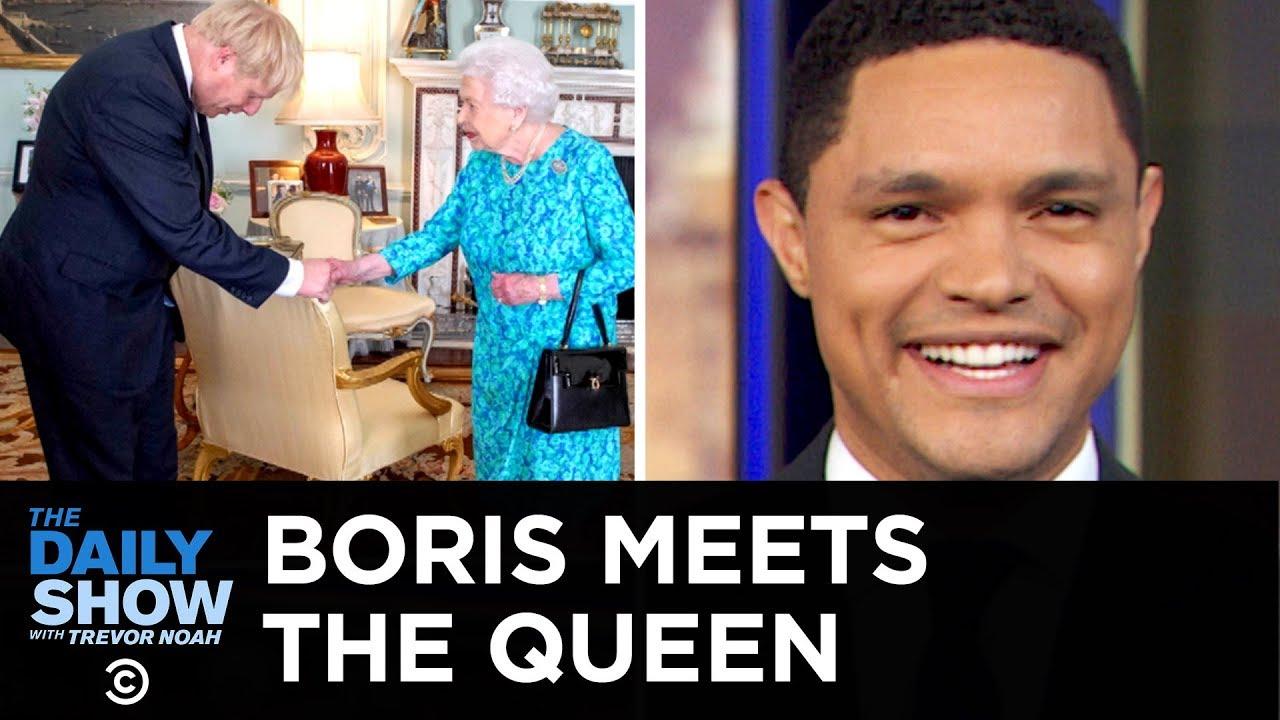 Boris Johnson Meets the Queen & Australia's Drug-Smuggling Problem   The Daily Show