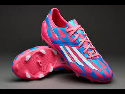 the latest 68deb e512a Adidas F10 FG Cleats Solar Pink Unboxing