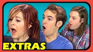 YouTubers React to Don't Hug Me I'm Scared 5 (Extras #77)