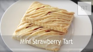 Mini Strawberry Tart | Byron Talbott