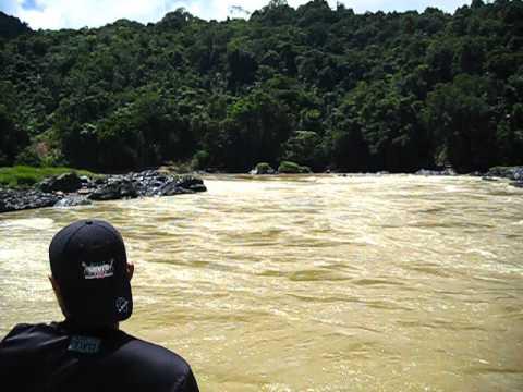 Express Boat from Kapit to Belaga, Sarawak