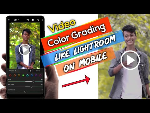 How To Change Video Colors - VSCO Full Version - Color Grading On Android