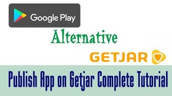 Publish Your Android App on Getjar Free google play alternative