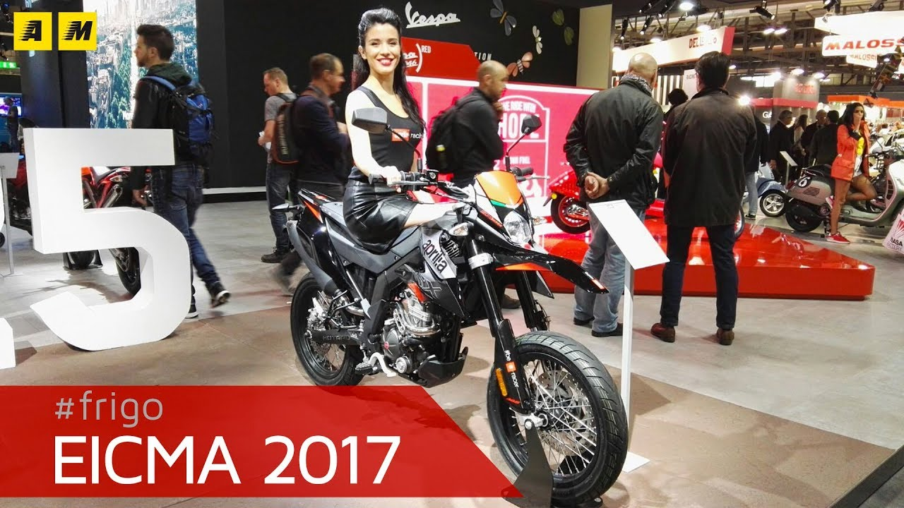 eicma 2017 aprilia rx e sx 125 2018 youtube. Black Bedroom Furniture Sets. Home Design Ideas