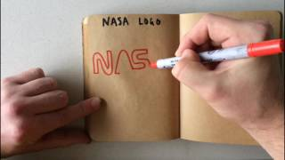 How to Draw a Nasa Logo