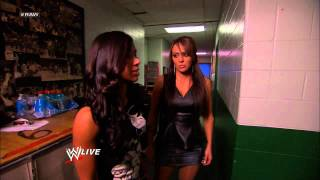 AJ attacks Dolph Ziggler in the locker room: Raw, Nov. 19, 2012