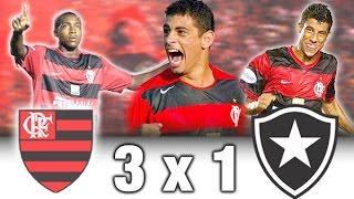 Flamengo 3 x 1 Botafogo * Brasileiro 2005 * Melhores Momentos