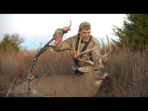 Fred Takes A Big Kansas Buck With His Recurve