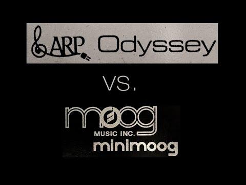 ARP Odyssey vs. Minimoog: Funk Bass Face-Off