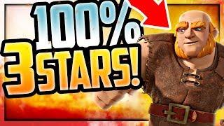 IS CLASH BROKEN? 100% 3-STAR Battles in Clash of Clans Attacks!