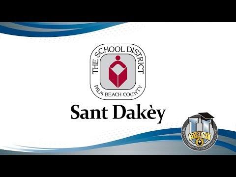 Sant Dakèy  (Parent University: Welcome Center (Creole))